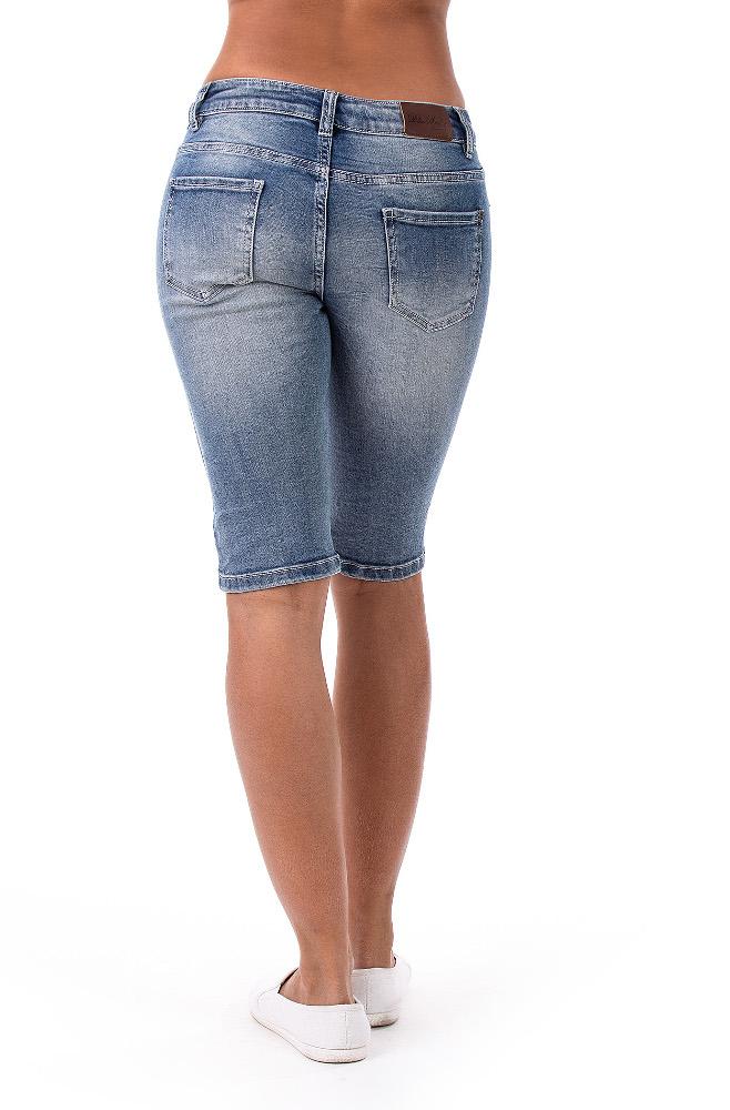 Blue Monkey Jeans Bermuda Shorts  - 3
