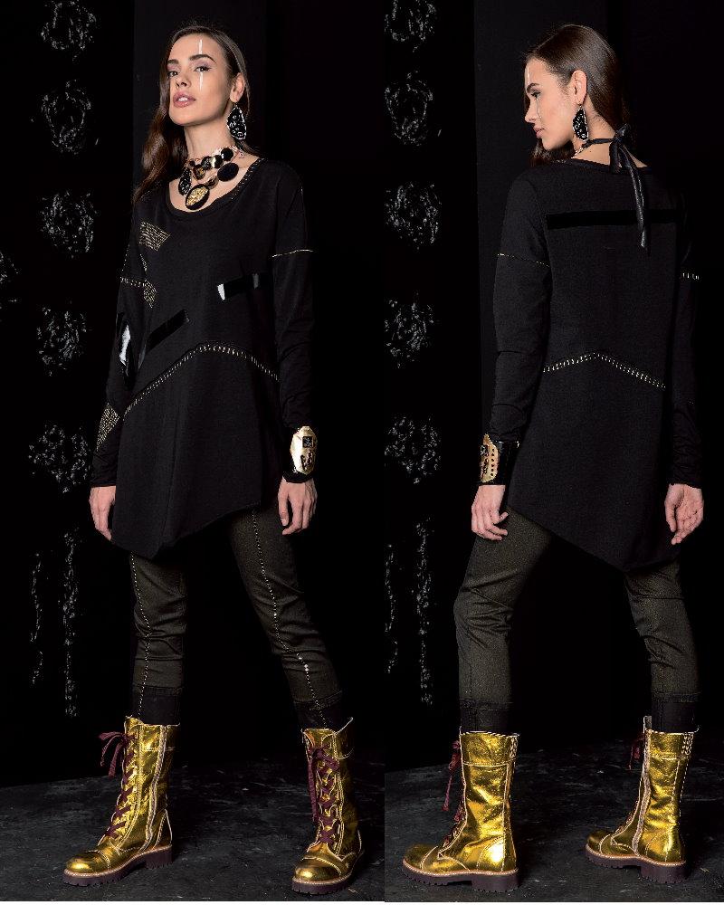 Look 52 Elisa Cavaletti Collection Winter 2017/18