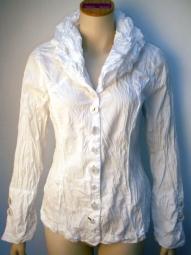 Designer Bluse von Bottega mit Schalkragen