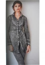Designer Bluse von Elisa Cavaletti