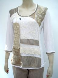 Shirt im Mustermix von der Designermarke Elisa Cavaletti