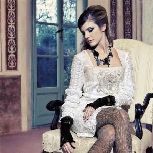 festliches Kleid Elisa Cavaletti Herbst Winter 2012