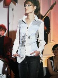 Bluse von Elisa Cavaletti