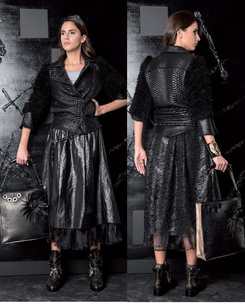 Look 14 Elisa Cavaletti Collection Winter 2017/18