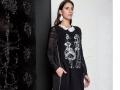 Elisa Cavaletti Kleid Dress NERO-SWING - MAXI - 1